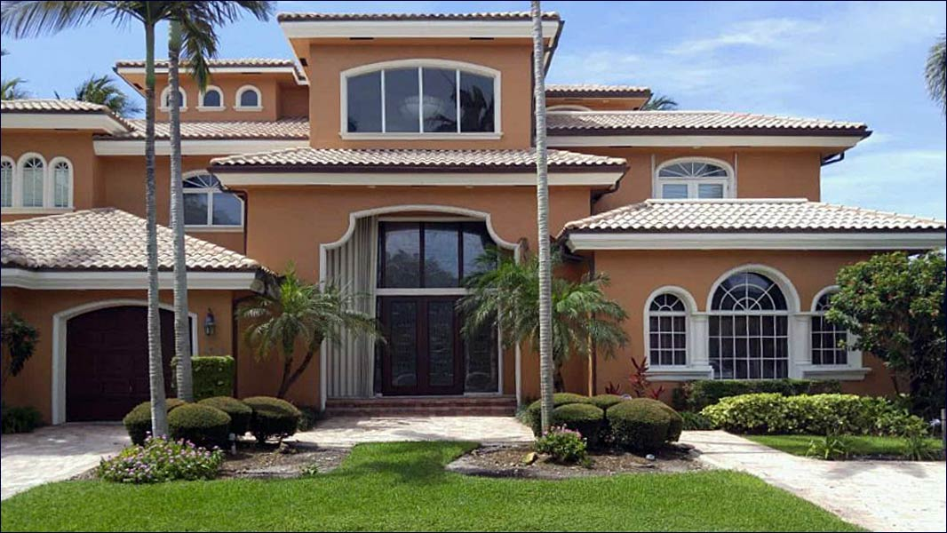 A agrand Florida home custom built in East Central Florida by Jim Halas and Halco, Inc.